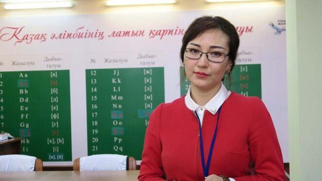 kazakistan latin alfabesi