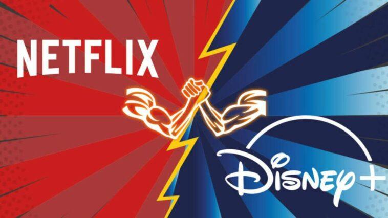 Netflix Disney+ Rekabet
