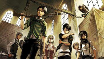 Attack on Titan mangası final veriyor
