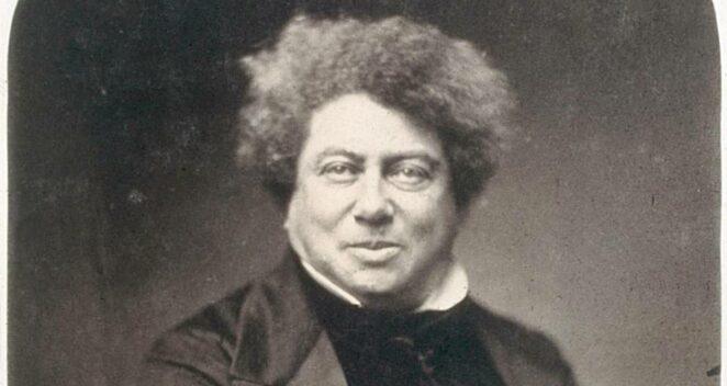 Alexandre Dumas portresi