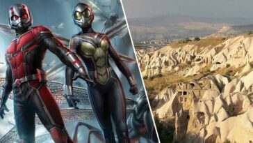 Ant-Man 3 Çekimleri Kapadokya