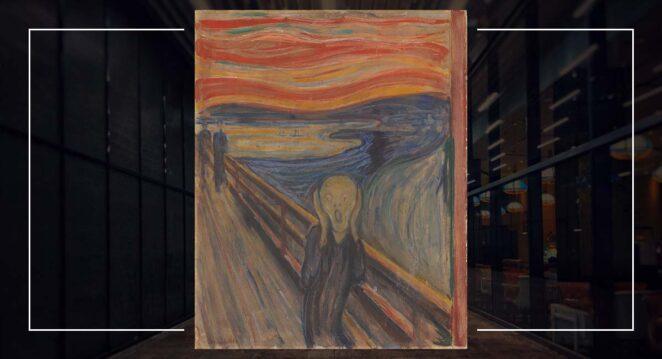 Edvard Munch the scream çığlık