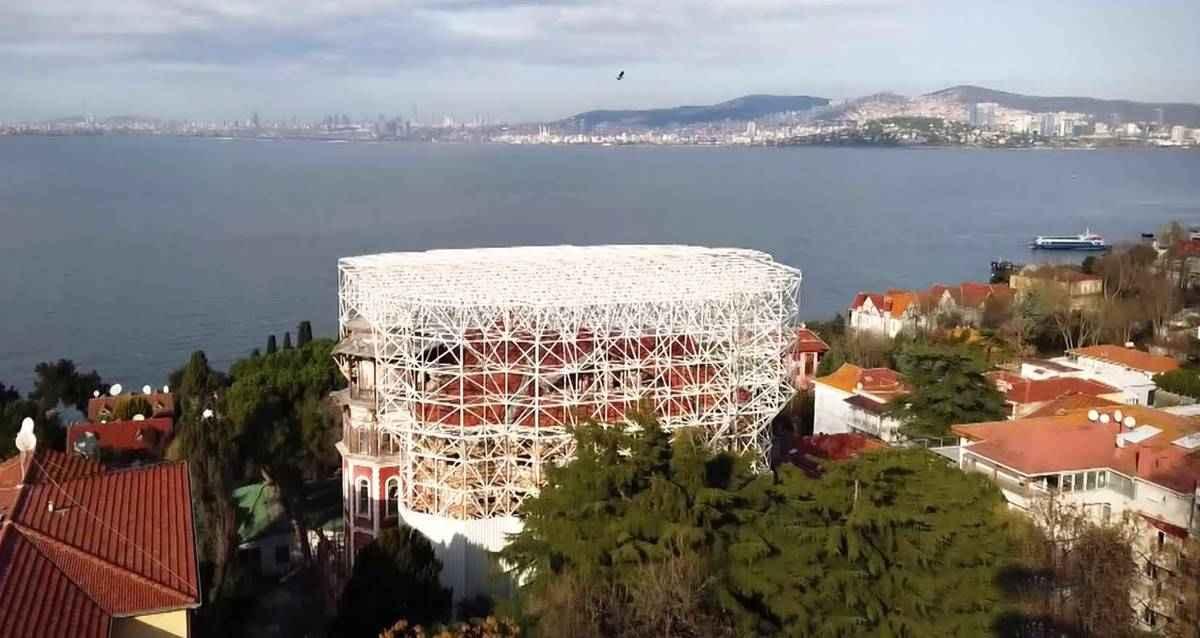 Hacopoulos Köşkü Edebiyat Müzesi Restorasyon
