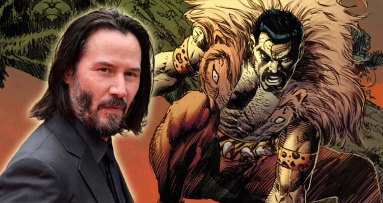 Kraven The Hunter Keanu Reeves