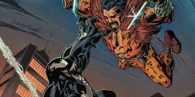 Kraven The Hunter Venom Spider-Man