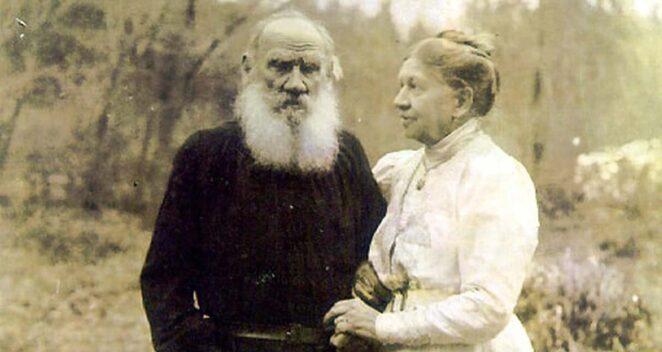 rus yazar ve karısı