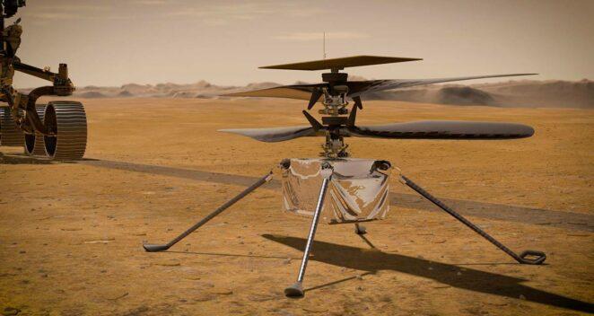 Mars Helikopteri Ingenuity mesaj