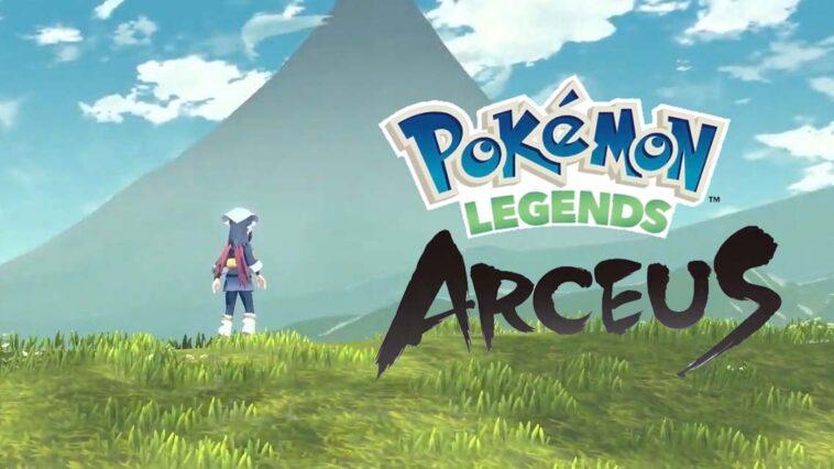 PokémonLegends: Arceus Yeni Oyun