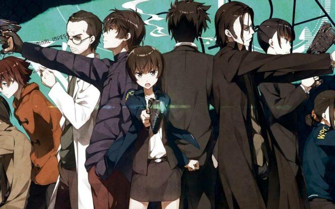 Psycho-Pass Bilimkurgu anime önerileri