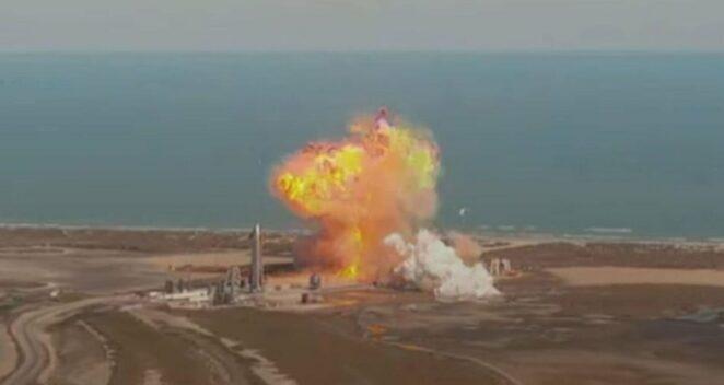 SpaceX Starship SN9 patlama
