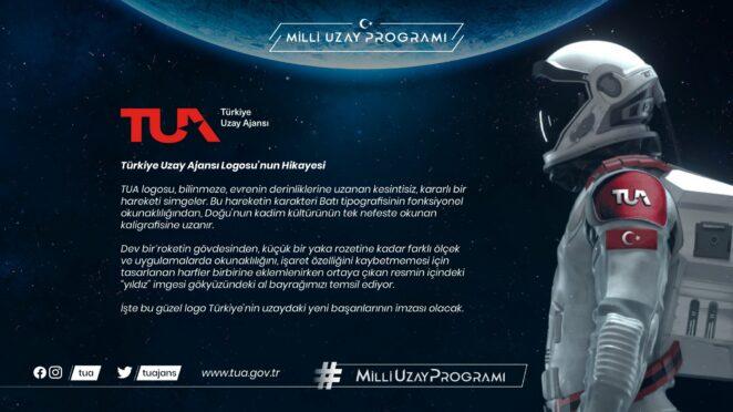 TUA Türkiye Uzay Ajansı Logo