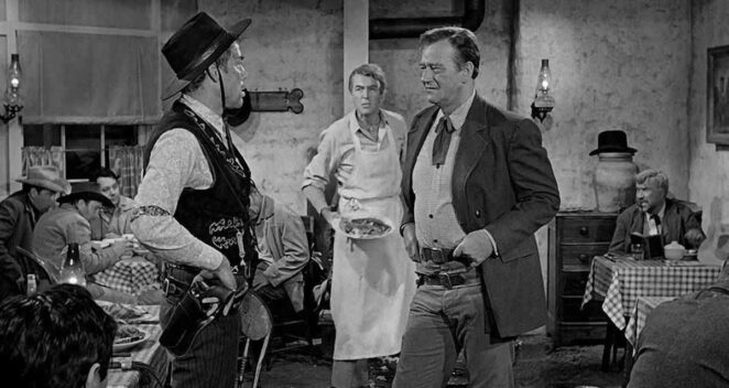 The Man Who Shot Liberty Valance vahşi batı filmleri