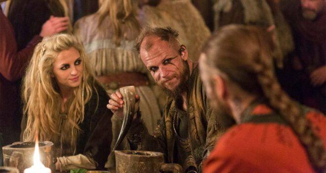 Vikings Floki makyaj