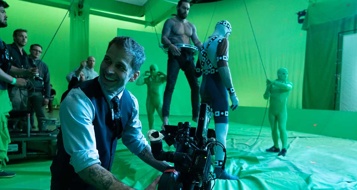 Zack Snyder's Justice League Perde Arkası