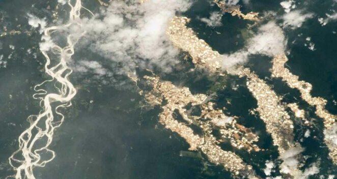 Amazon Ormanları Altın Madenciliği NASA