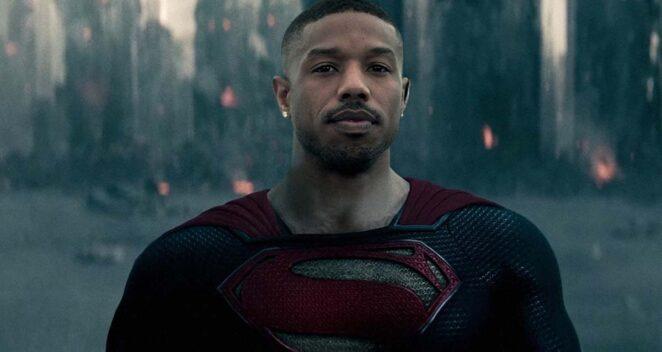 black superman michael b. jordan