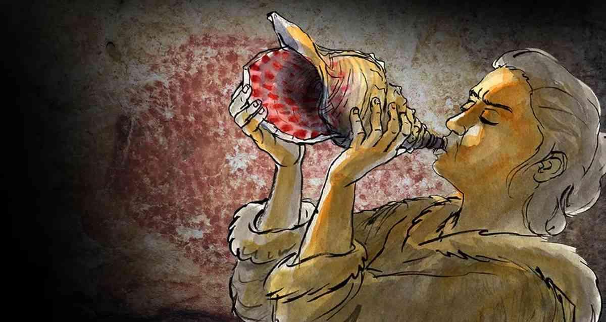Deniz Kabuğu Borusu Sesi Antik