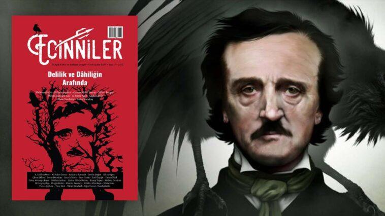 Ecinniler Dergisi 7. Sayı Edgar Allan Poe