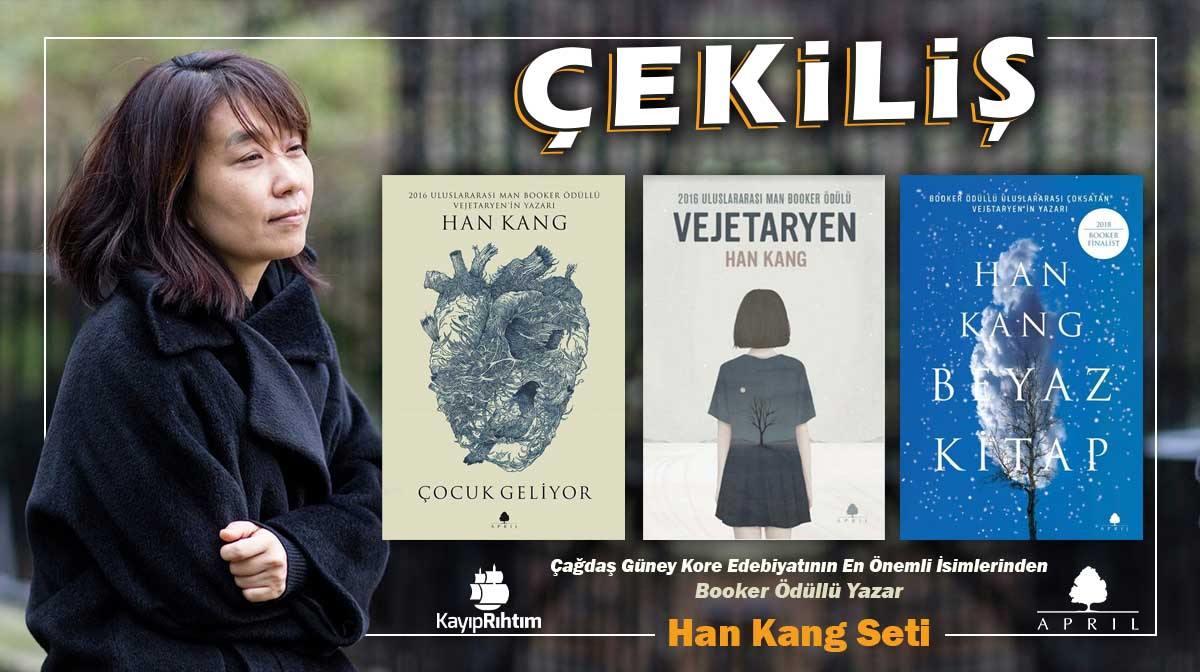 Çekiliş: 8 Kişiye 3 Kitaplık Han Kang Seti