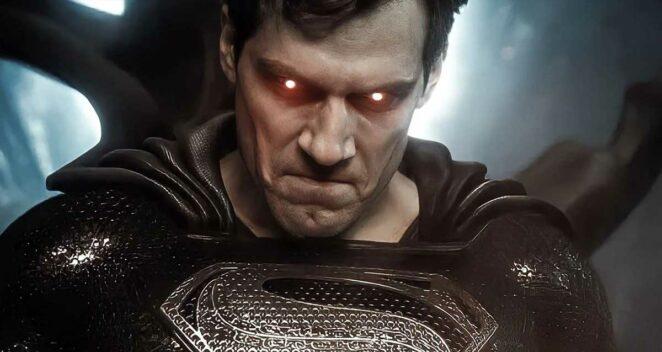 henry cavill superman siyah kostüm