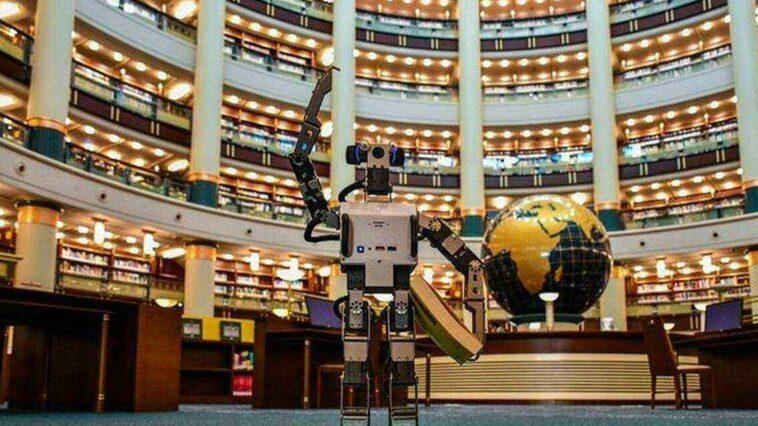 Millet Kütüphanesi Robot