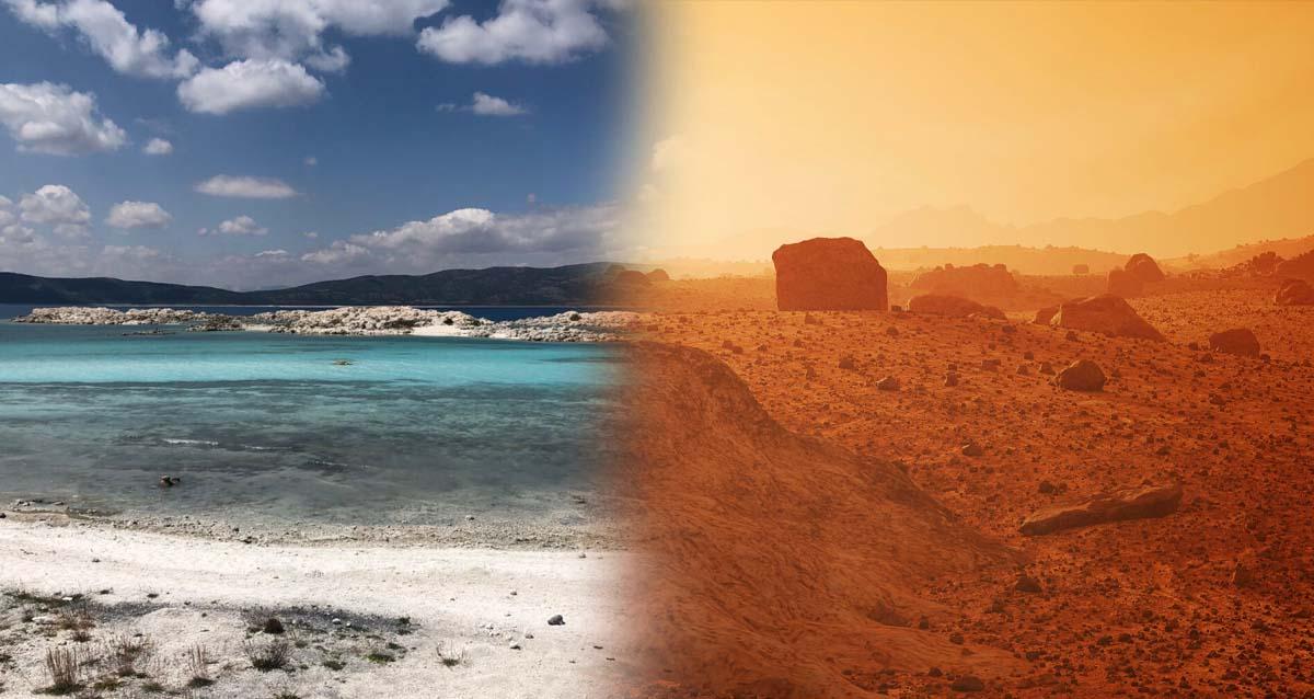 Nasa Mars Salda Gölü