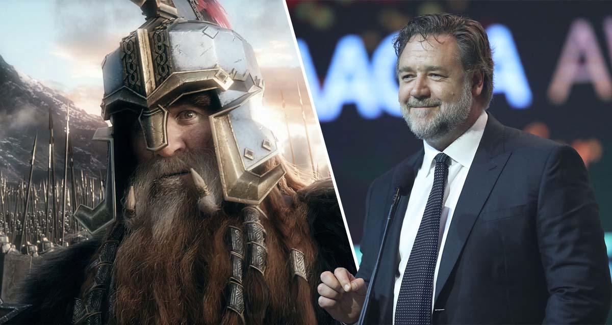 Russell Crowe Yüzüklerin Efendisi
