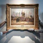 Van Gohg tablosu Montmartre'da Bir Sokak Manzarası