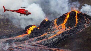 İzlanda Volkanik Sistemi Hareket