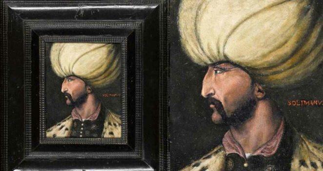 Kanuni Sultan Süleyman Portresi
