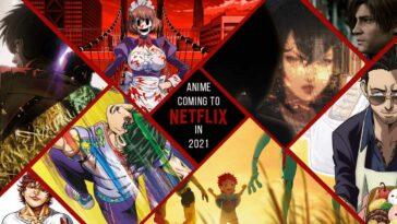 Netflix 2021 Anime Programı