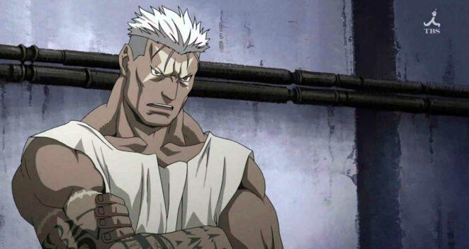 Scar (Fullmetal Alchemist Brotherhood) Anime Anti Kahraman