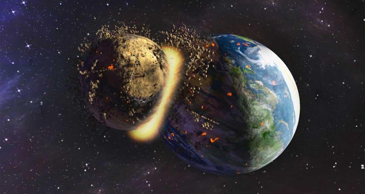 theia dünya gezegen