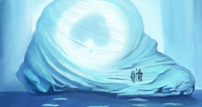 avatar buzlar içinde
