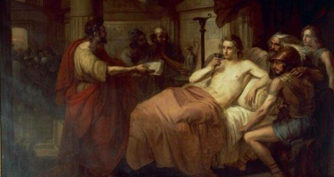 Büyük İskender Ölüm
