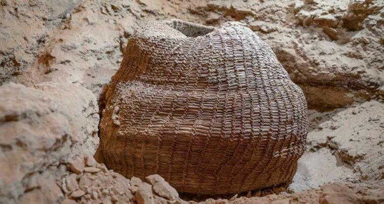 Dünyanın En Eski Dokuma Sepeti İsrail