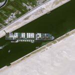 Süveyş Kanalı Karaya Oturan Gemi Ever Given