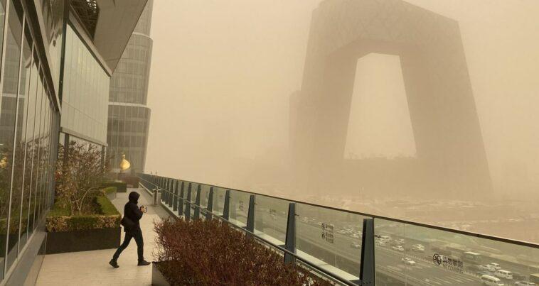 Kum Fırtınaları Çin