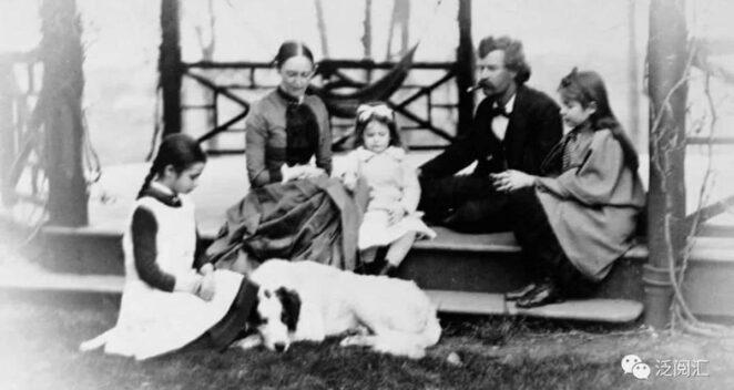 mark twain ailesi