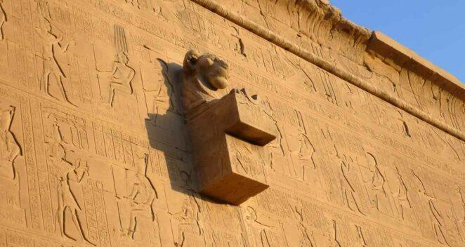 antik mısır heykel