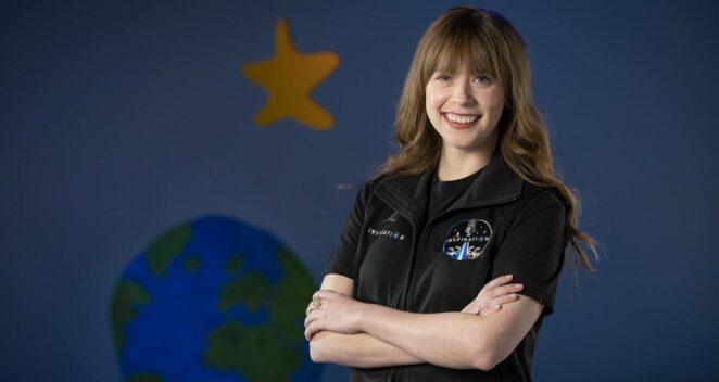 Uzaya Giden İlk İnsan Protez Uzuv Hayley Arceneaux