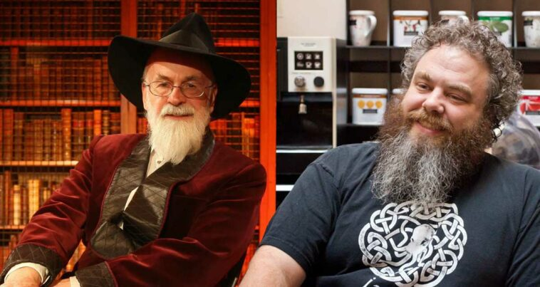 Terry Pratchett Patrick Rothfuss