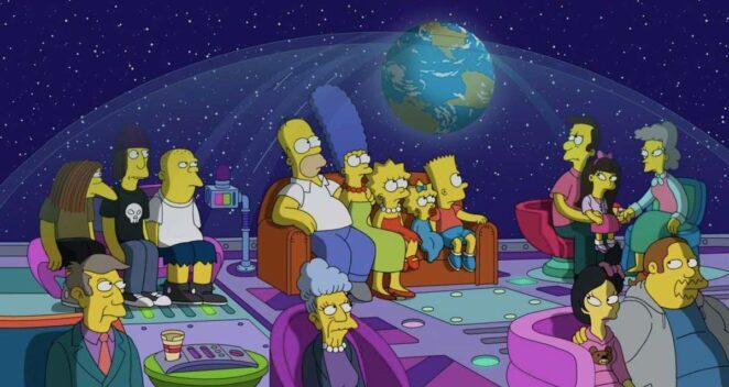 The Simpsons 33. sezon onayı 34
