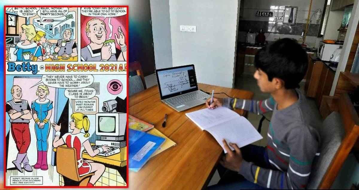 Betty: Archie Comics Çizgi Romanı uzaktan eğitim