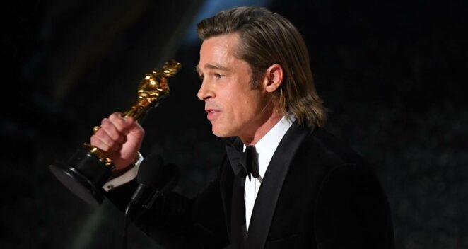Brad Pitt oscar ödül töreni