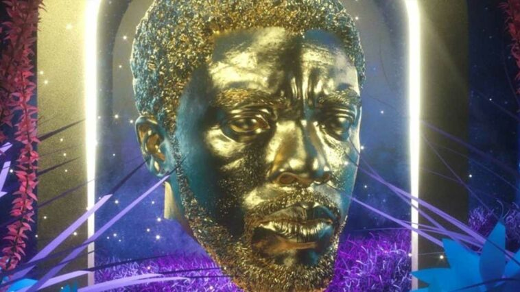 Dijital Chadwick Boseman Heykeli