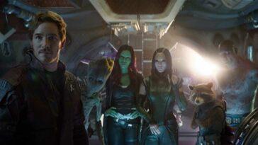 Guardians Of The Galaxy 3 çekimleri