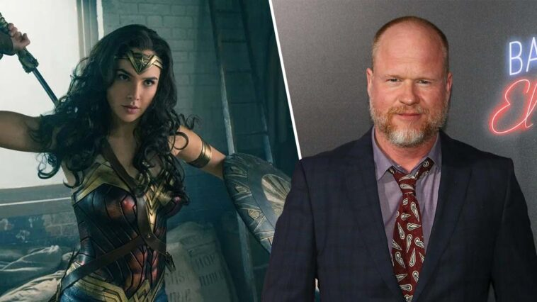 Joss Whedon Gal Gadot Justice League