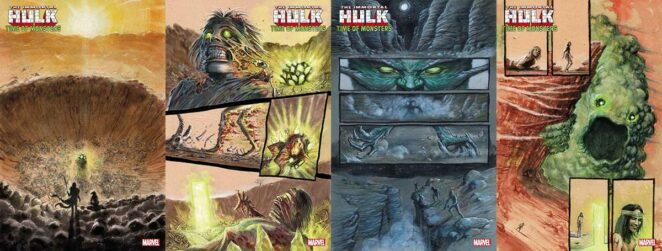 Marvel Comics The Immortal Hulk Time of Monsters