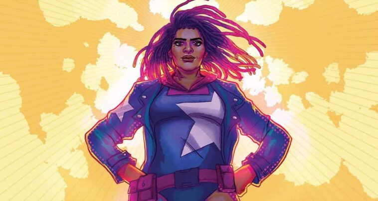Siyah Kadın Captain America